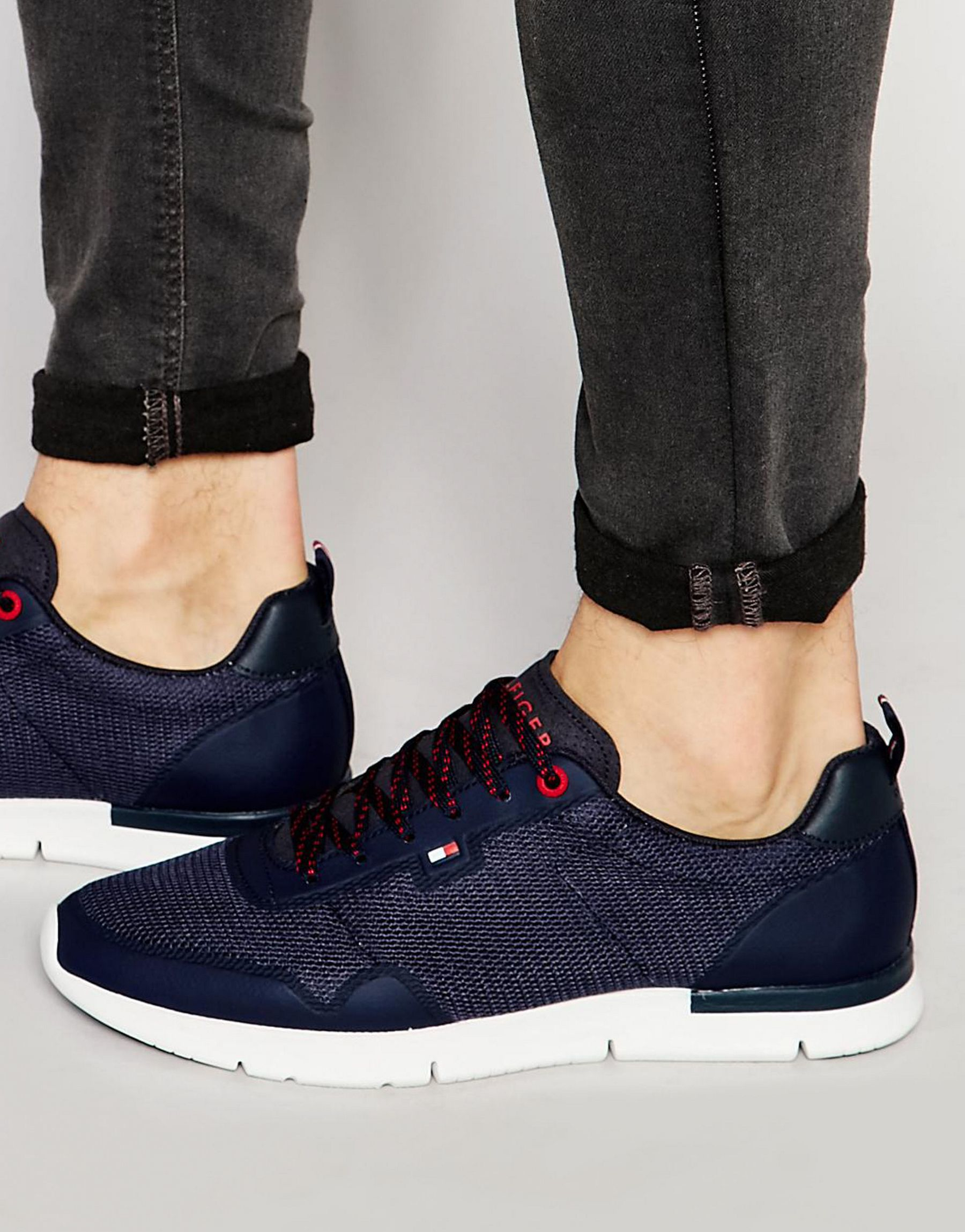 c024976e0 Tommy Hilfiger Tobias Runner Sneakers in Blue for Men - Lyst