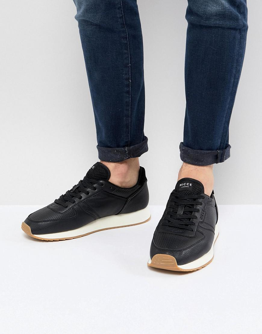Nicce London Nicce Panacea Sneakers In Black in Black for Men - Lyst 854184042