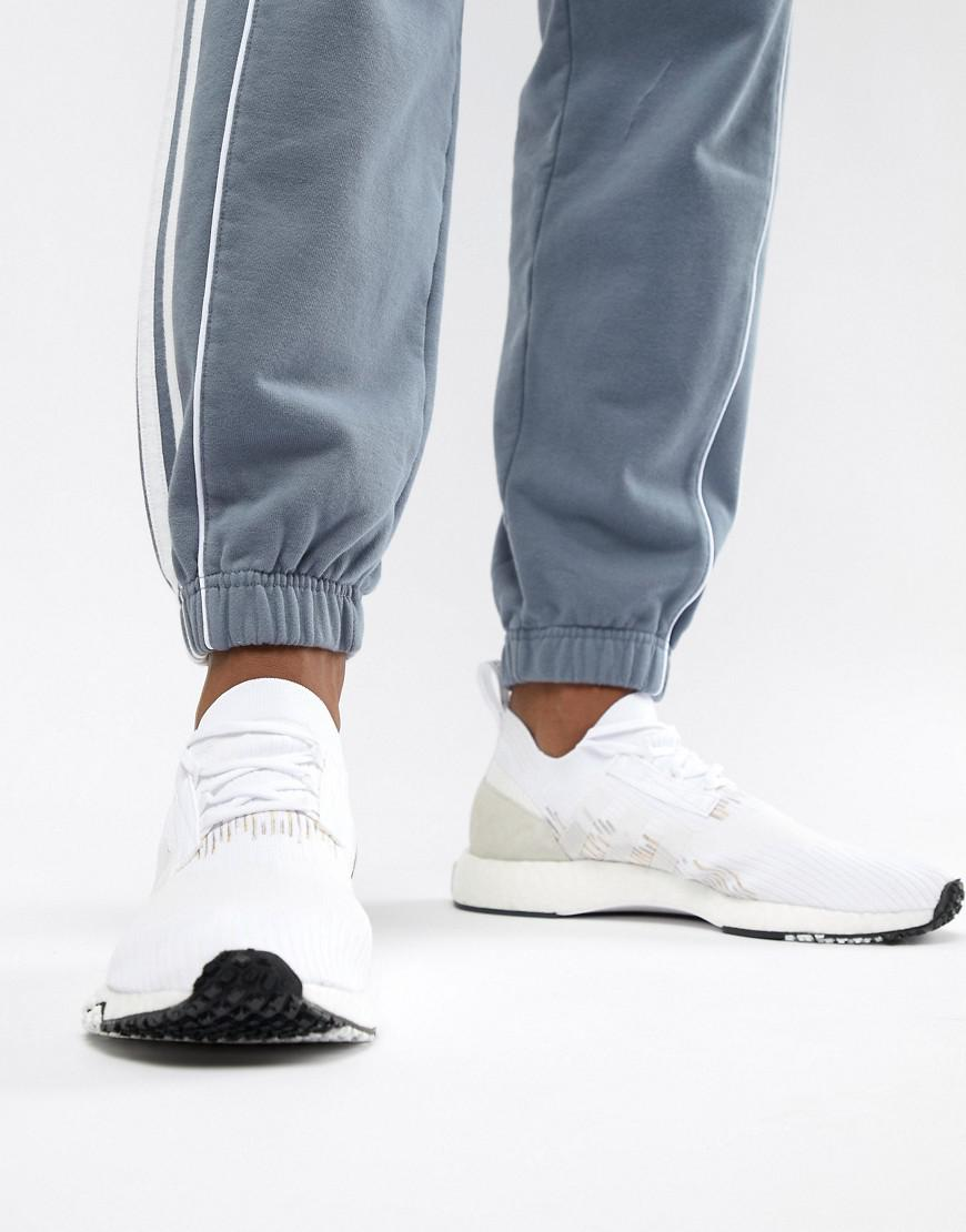Lyst - adidas Originals Nmd Racer Pk Sneakers In White B37639 in White for  Men 389070fdf