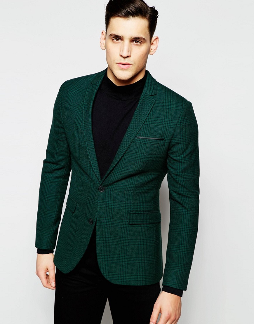 Mens Blazers Nail smart-casj style with our new season collection of men's blazers. Pair with a turtleneck jumper for a mod-rock vibe or play the athleisure trend and mix cool sports separates with a .