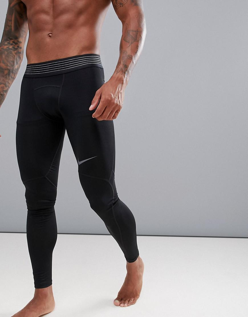 a48527eb7139 Nike Pro Hypercool Tights In Black 888295-011 in Black for Men - Lyst