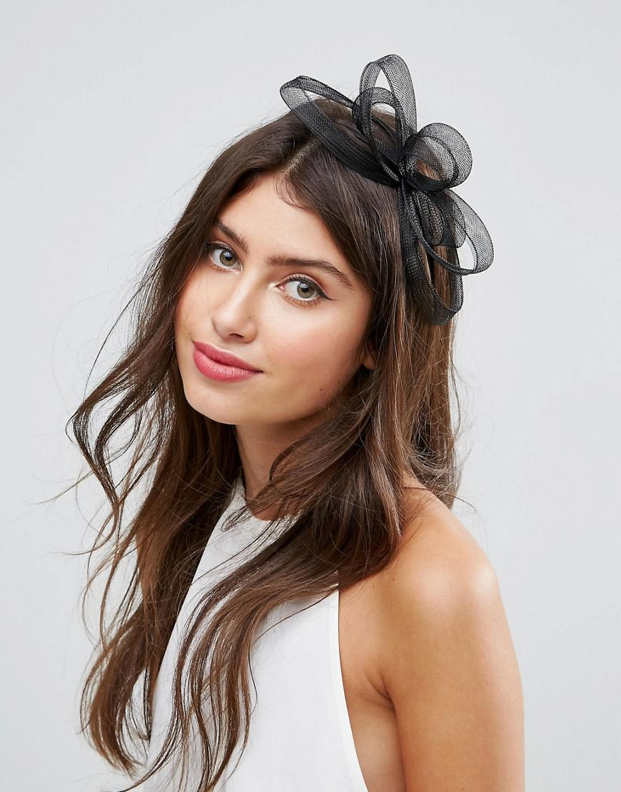 Orchid and Veil Fascinator Headband - White Asos YigWJ7