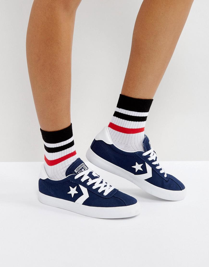 96304bb6fa0 Converse Breakpoint Canvas Sneakers In Navy in Blue - Lyst