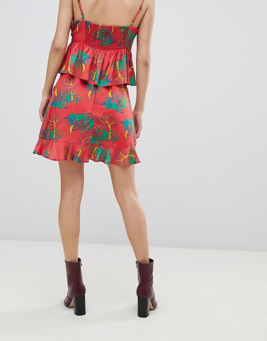4e4a1f07c16062 honey-punch-red-Mini-Skirt-With-Ruffle-Detail-In-Tropical-Print-Co-ord.jpeg