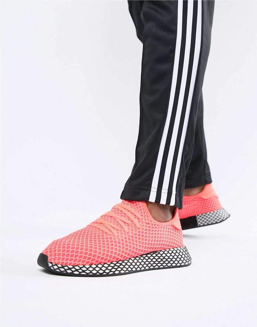 fb33862a63dc51 Lyst - adidas Originals Deerupt Trainers In Pink B41769 in Pink for Men