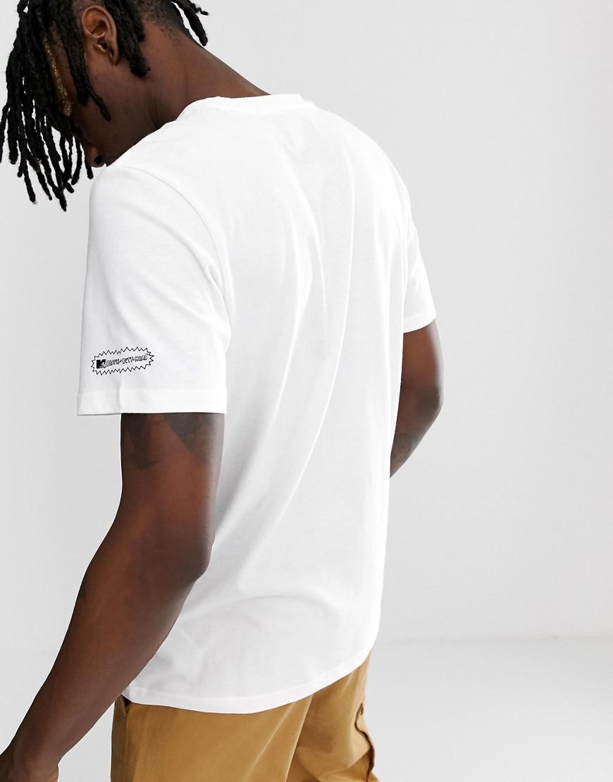 3dfa772b adidas Originals Beavis And Butthead T-shirt White Du2858 in White for Men  - Lyst