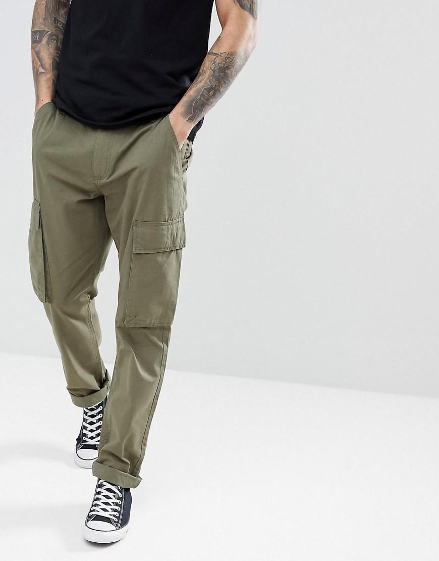 Cargo Trousers - Green French Connection gfuR7iPjf