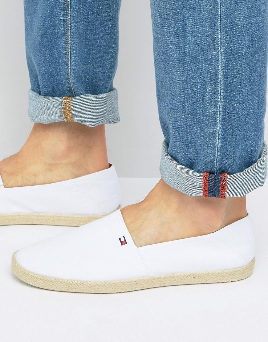 a5fee3d92 Tommy Hilfiger Granada Espadrilles in White for Men - Lyst