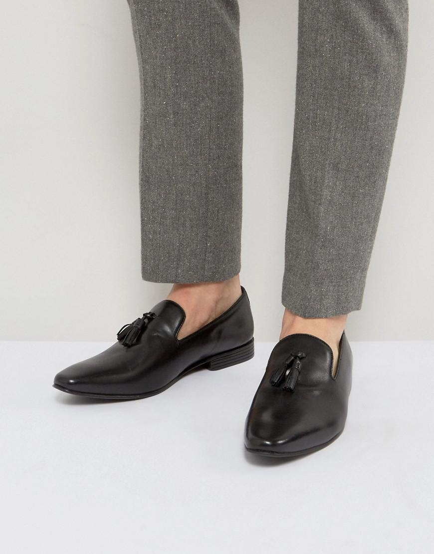 Kg By Kurt Geiger Patent Tassel Loafers - Black Kurt Geiger Footlocker 6PDXnWIpK