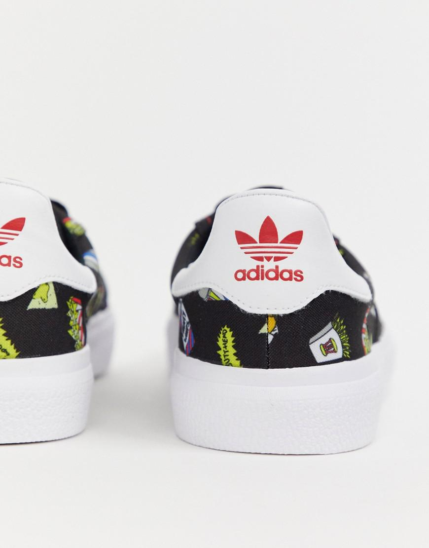 info for a7546 1c48f adidas Originals Beavis And Butthead 3mc Sneakers Bd7861 in Black for Men -  Lyst
