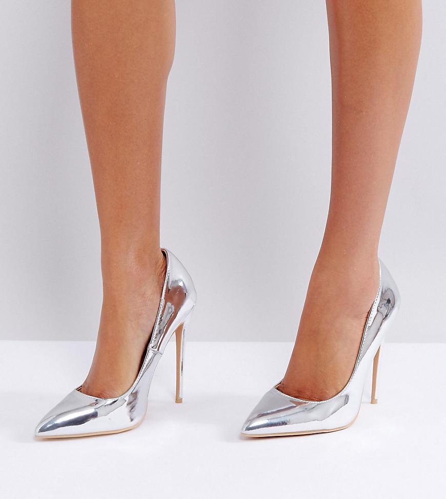 True Gold Sweetheart Cut Out Court Shoes - True gold metallic Lost Ink. neLzcfaaAu