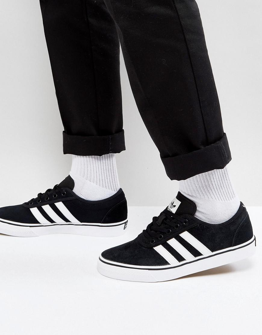 Lyst - adidas Originals Adi-ease Sneakers In Black By4028 in Black ... c637becc2