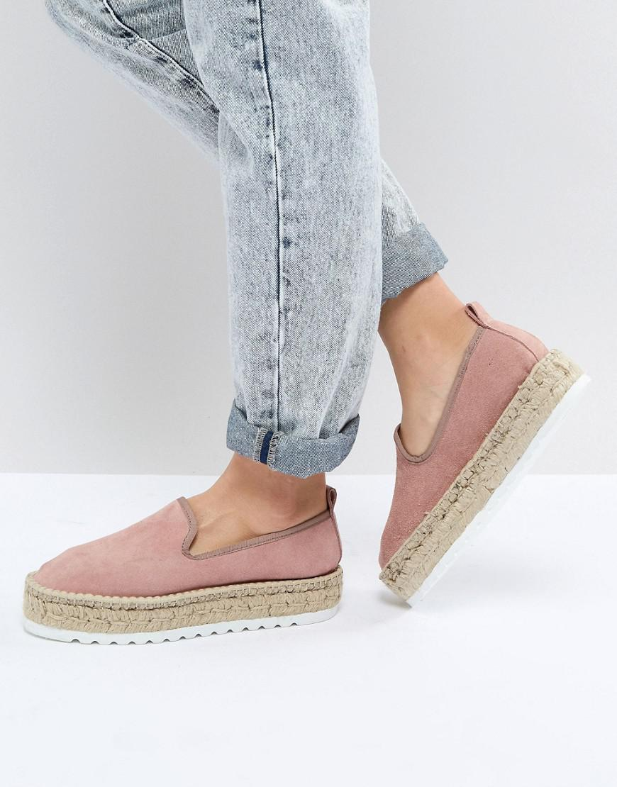 DESIGN Jockey Suede Chunky Espadrilles many kinds of buy cheap cost L5we3