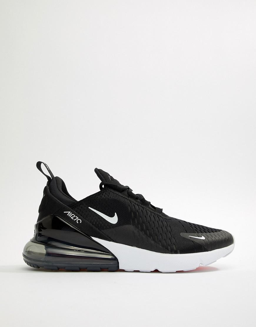 Nike Air Max 270 Sneakers In Black Ah8050-002 in Black for Men - Lyst 4010a9a40