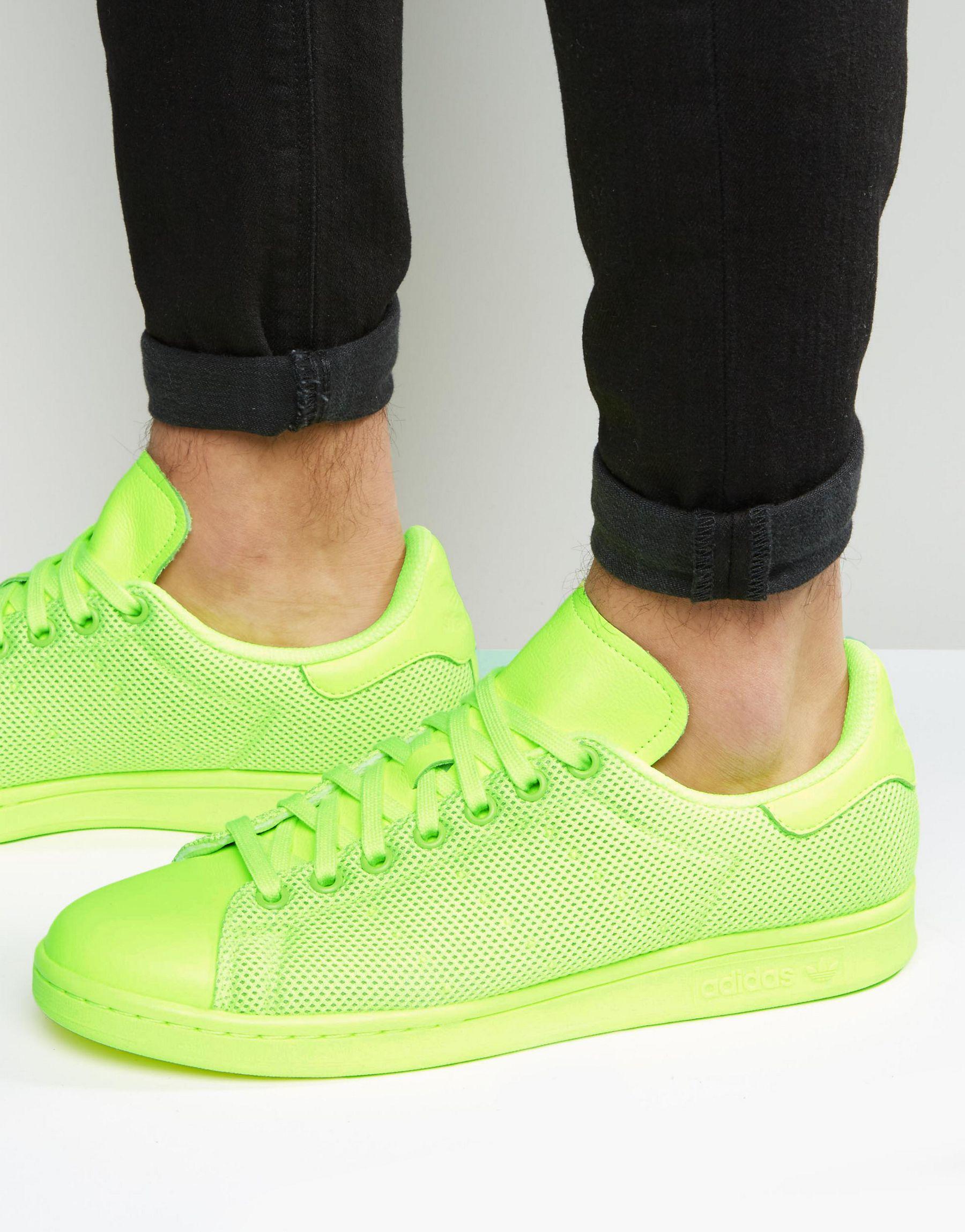 Lyst adidas Originals Stan Smith zapatillas en Amarillo bb4996 en
