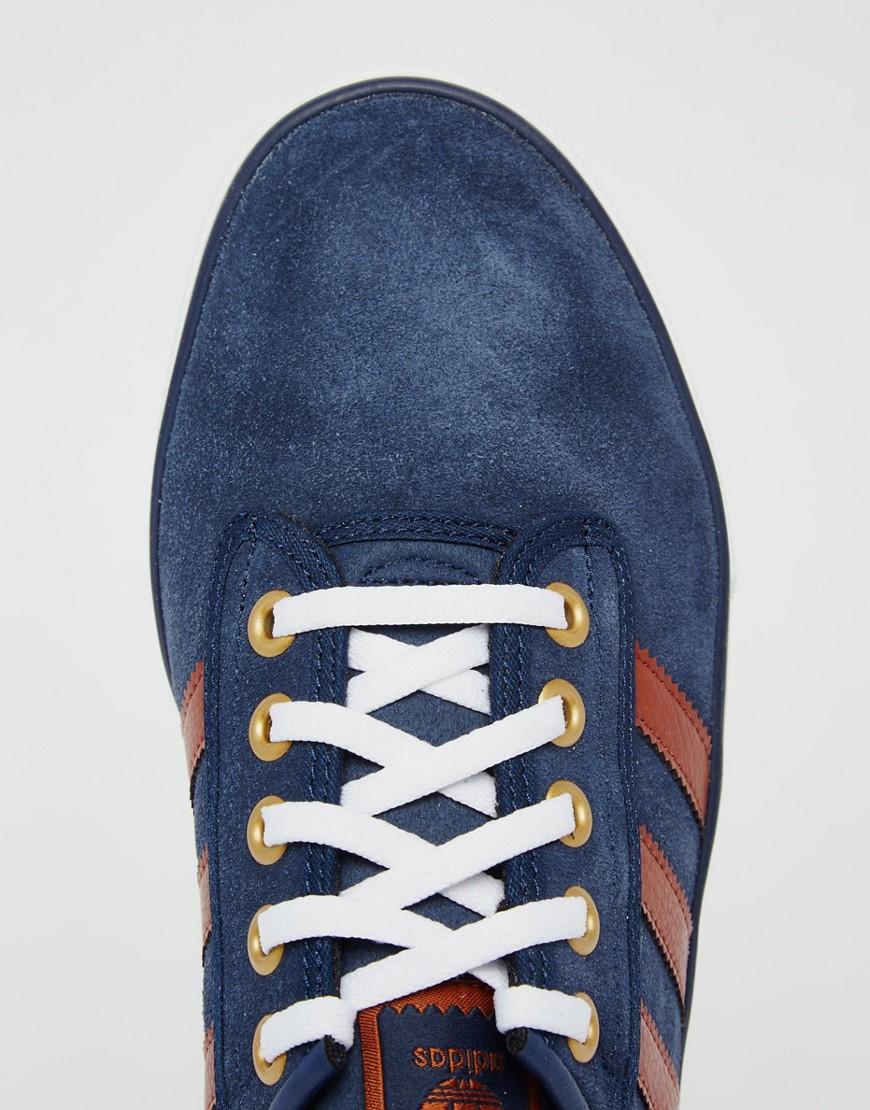 Lyst adidas Originals Kiel zapatillas en la Marina b39563 Marina en azul