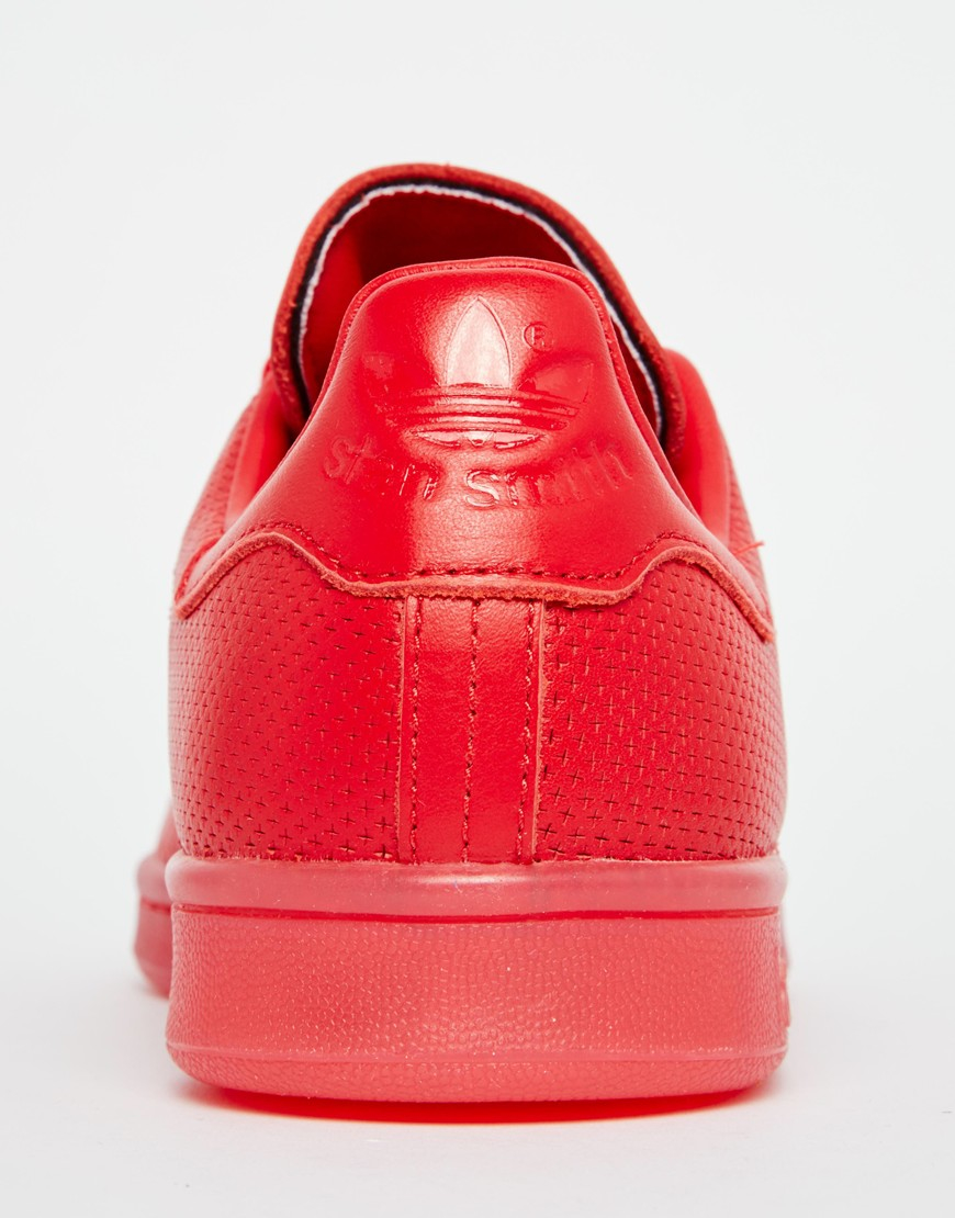 Adidas Shoes Red Colour