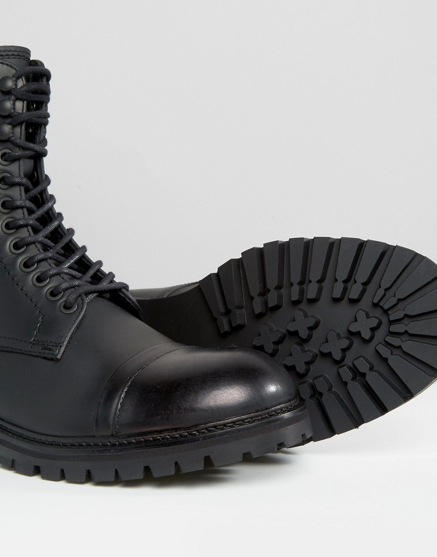 c83247e26b6 Lyst - BOSS Orange By Hugo Boss Tonkin Military Lace Up Boots in ...