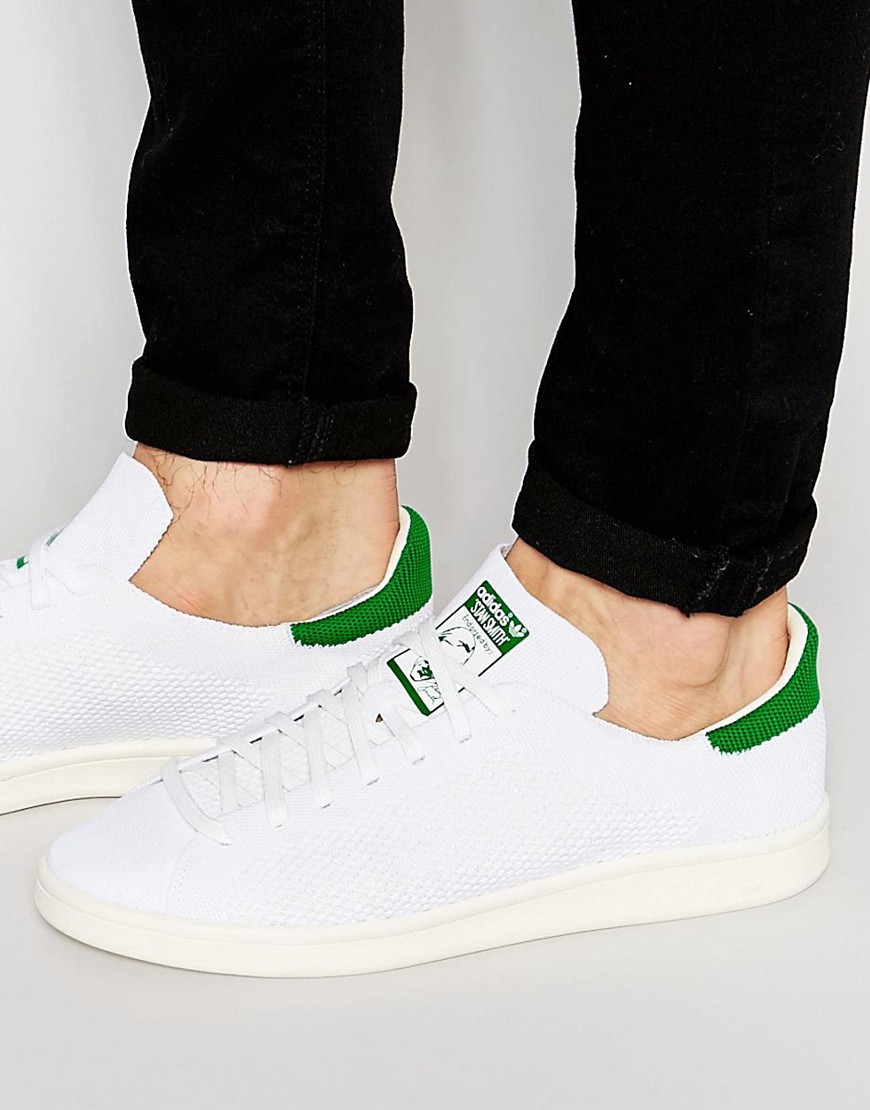 a277d41c8413 Lyst - Adidas Originals Stan Smith Primeknit Trainers S75146 in ...
