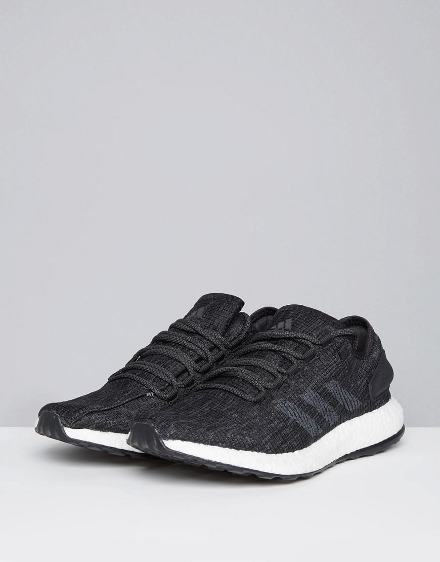2823f6e4df341 adidas Running Pureboost In Black Cp9326 in Black for Men - Lyst