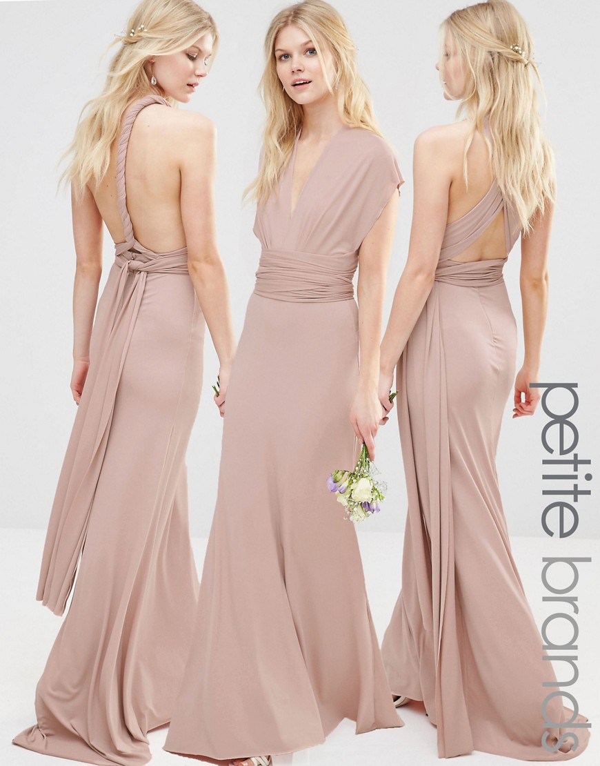 Tfnc London Wedding Multiway Maxi Dress - Mauve in Pink - Lyst