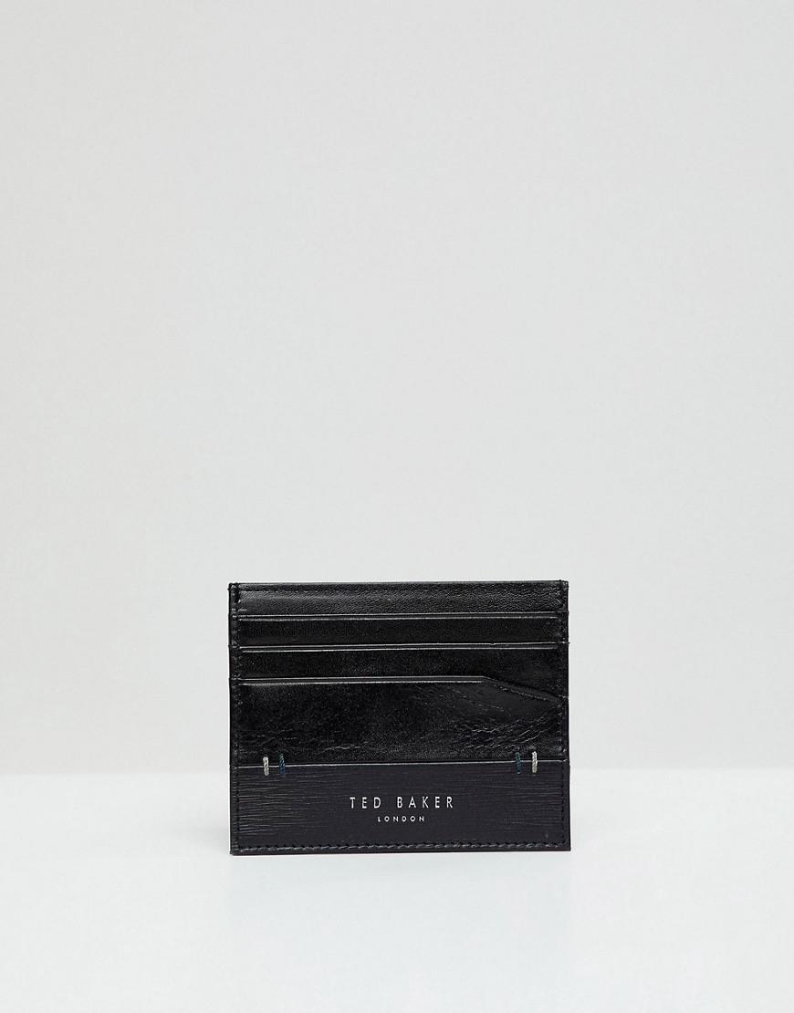 1f9dd5b4b Ted Baker Taglee Wallet   Card Holder Gift Set in Black for Men - Lyst