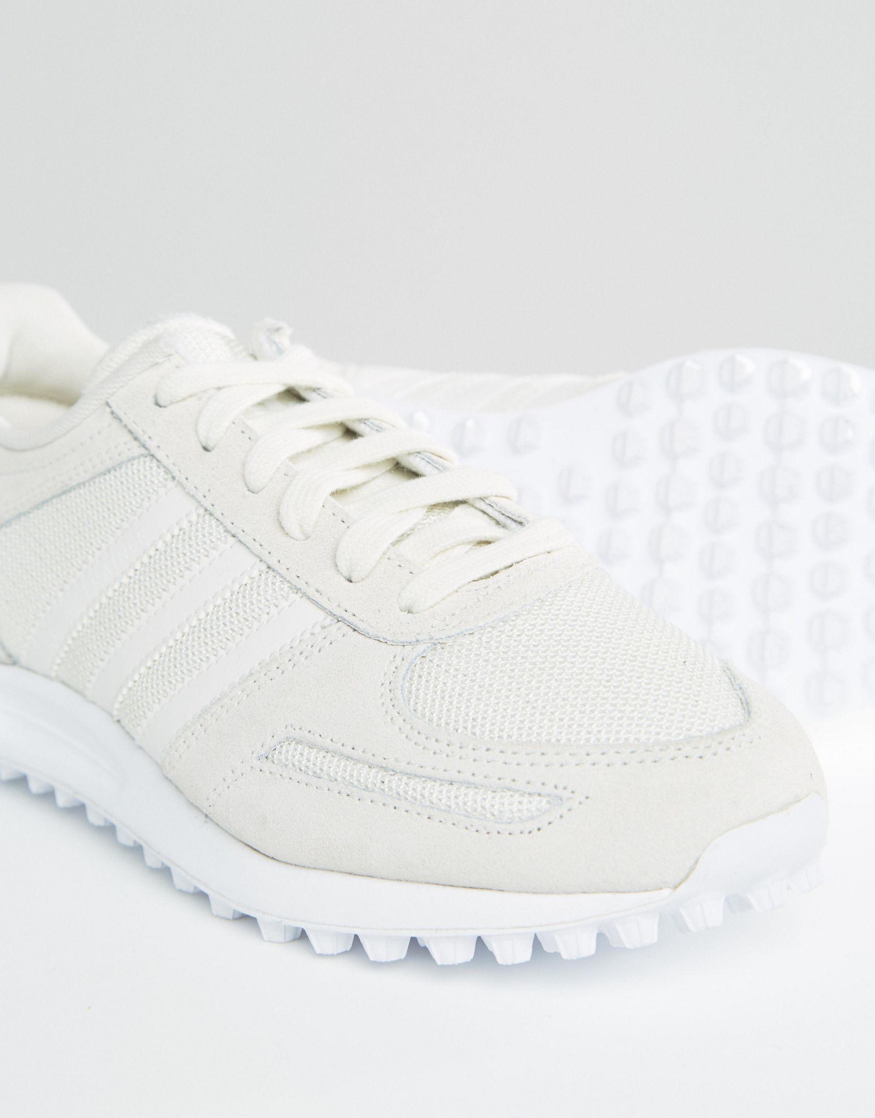 Lyst adidas originali originali gelato e sabbia la formatori in bianco.