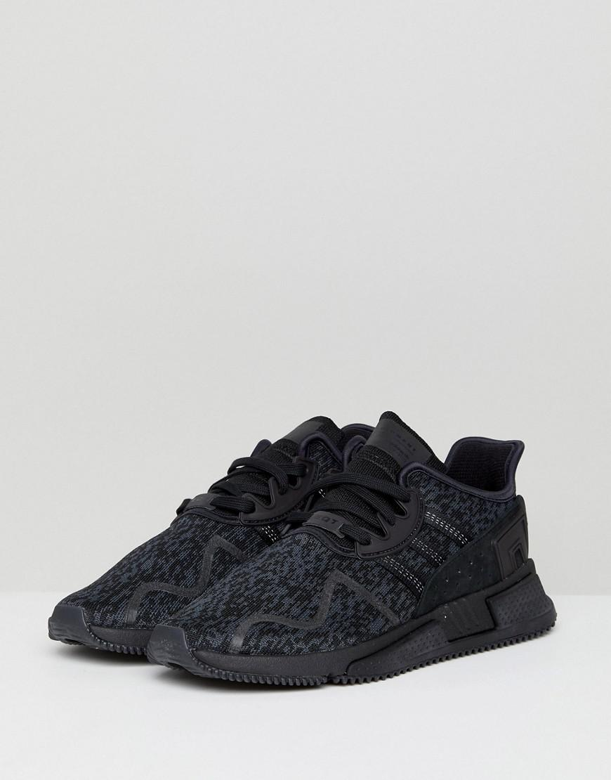 c8912d253ec9 adidas Originals Eqt Cushion Adv Trainers In Black By9507 in Black ...