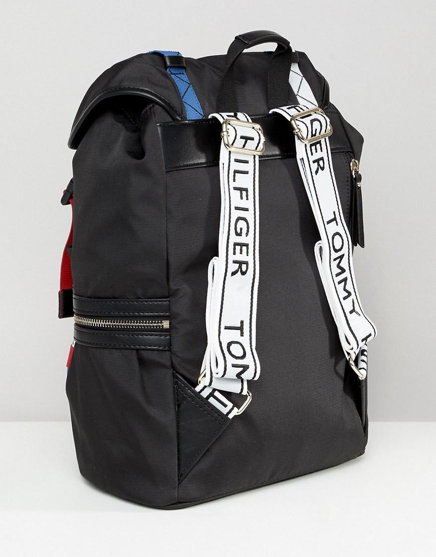 sale retailer 54620 0d576 tommy-hilfiger-Black-Safari-Backpack.jpeg