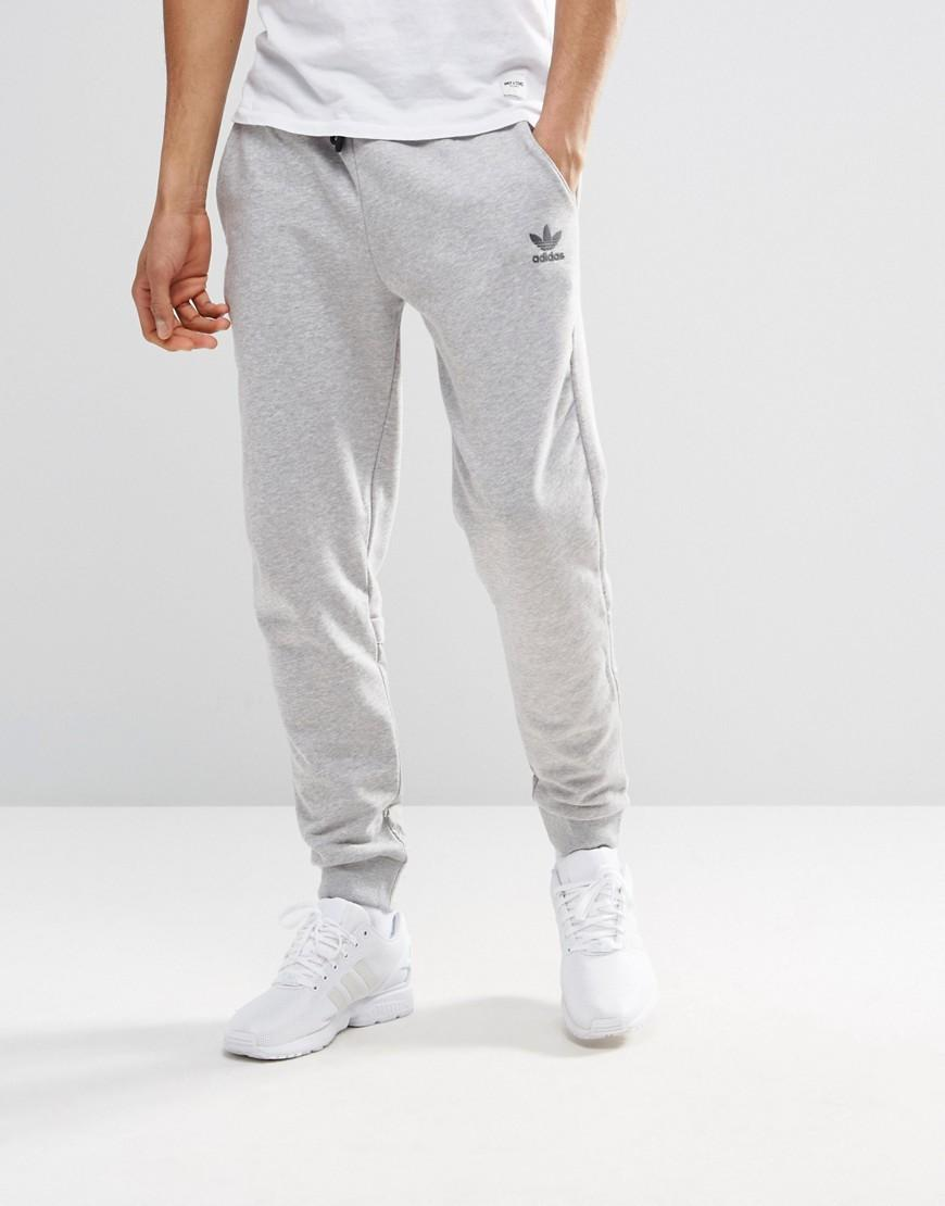 Perfect Adidas Originals 3 Striped Track Pants Grey Heatherjoggertracksuitbottomsmens