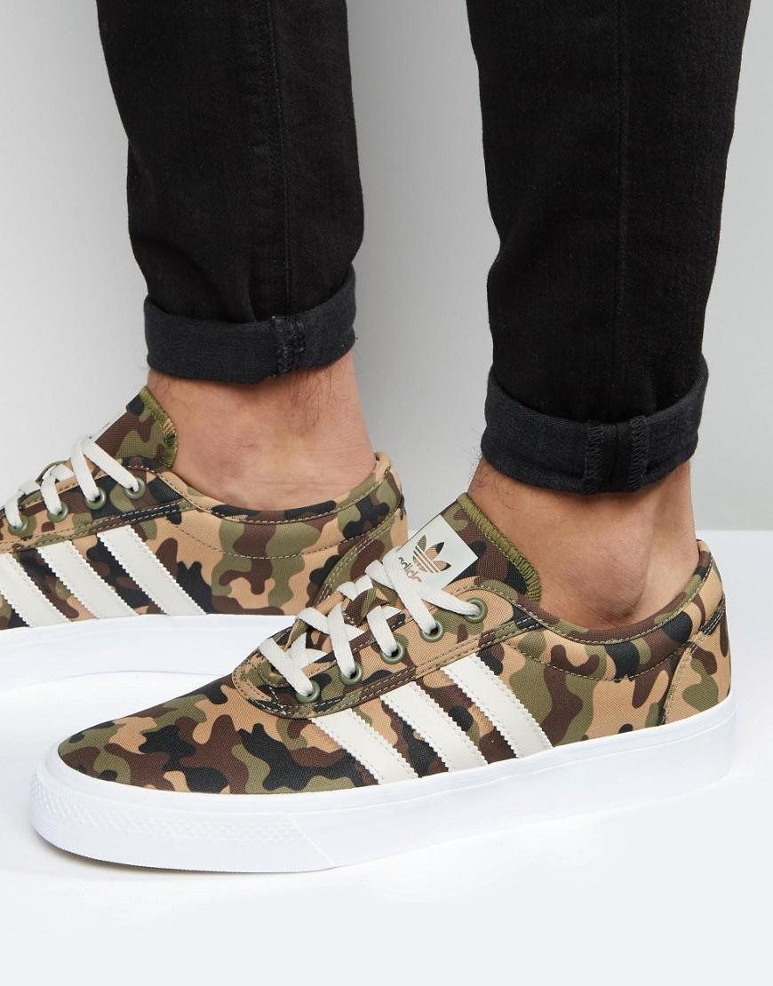 sports shoes b5a06 0b16d Lyst - adidas Originals Adi-ease Trainers In Green F37836 in