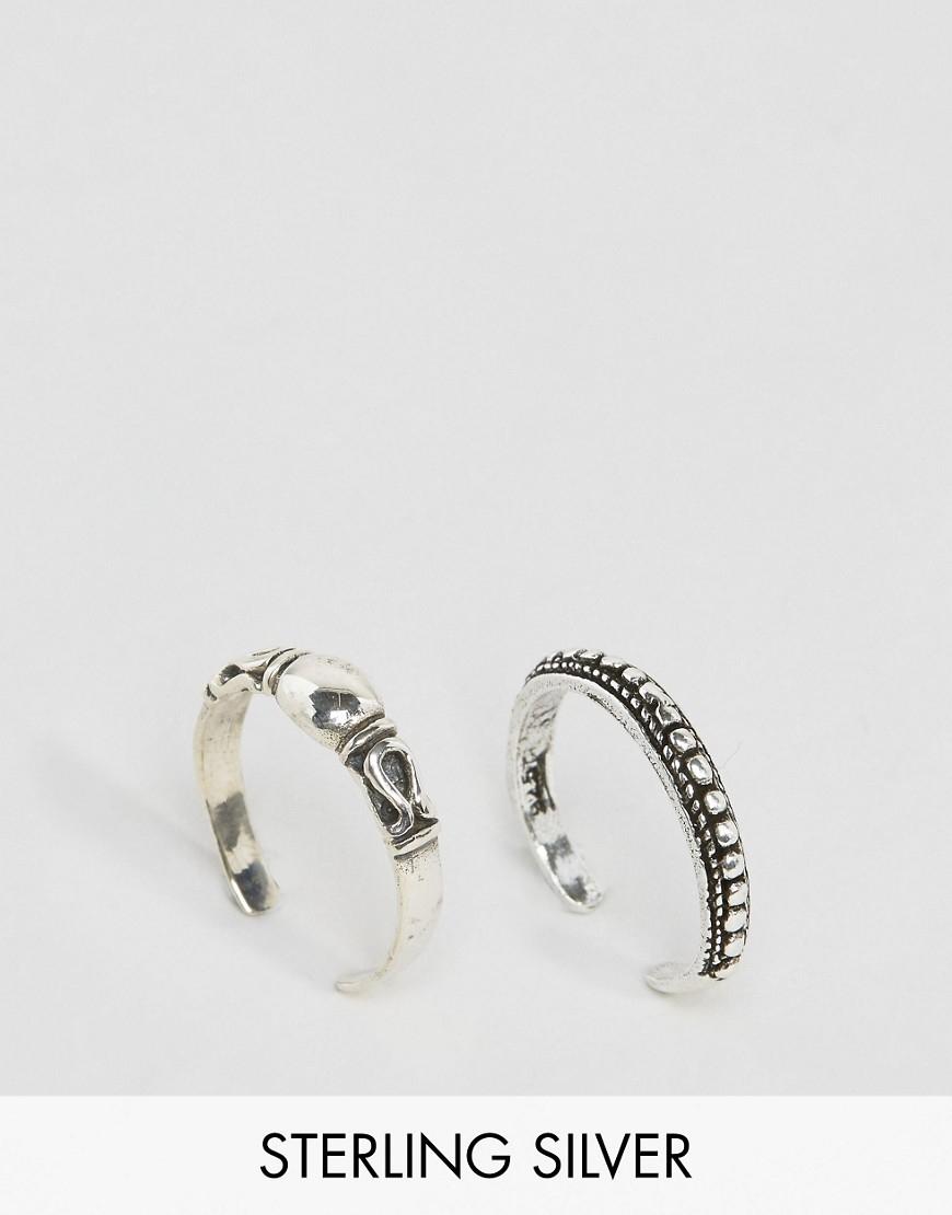 kingsley sterling silver cobra ring pack silver in