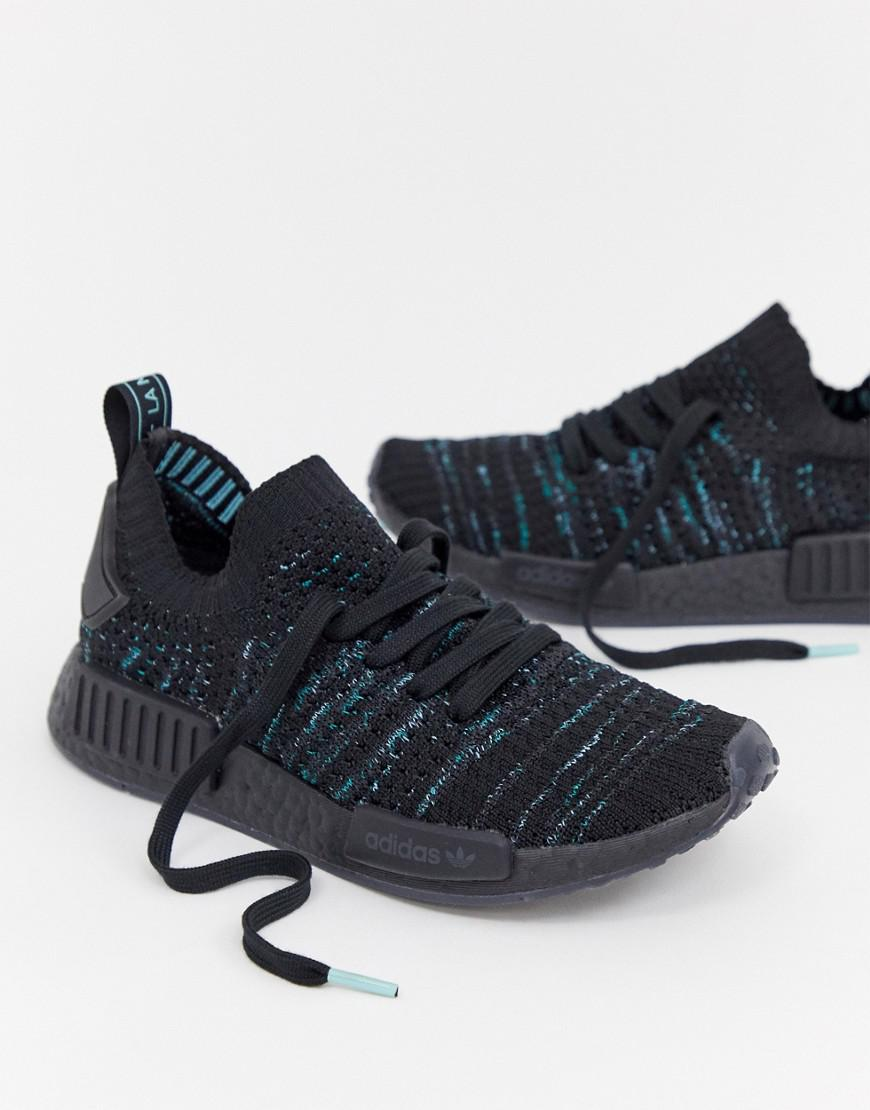 73e1fd83680 Lyst - adidas Originals Nmd R1 Parley Sneakers In Blue Print in Blue