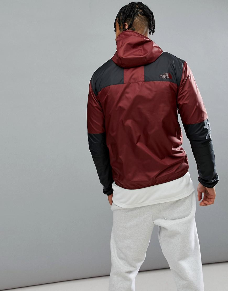 f331476f61a7 The North Face 1985 Mountain Jacket Exclusive To Asos In Burgundy in ...