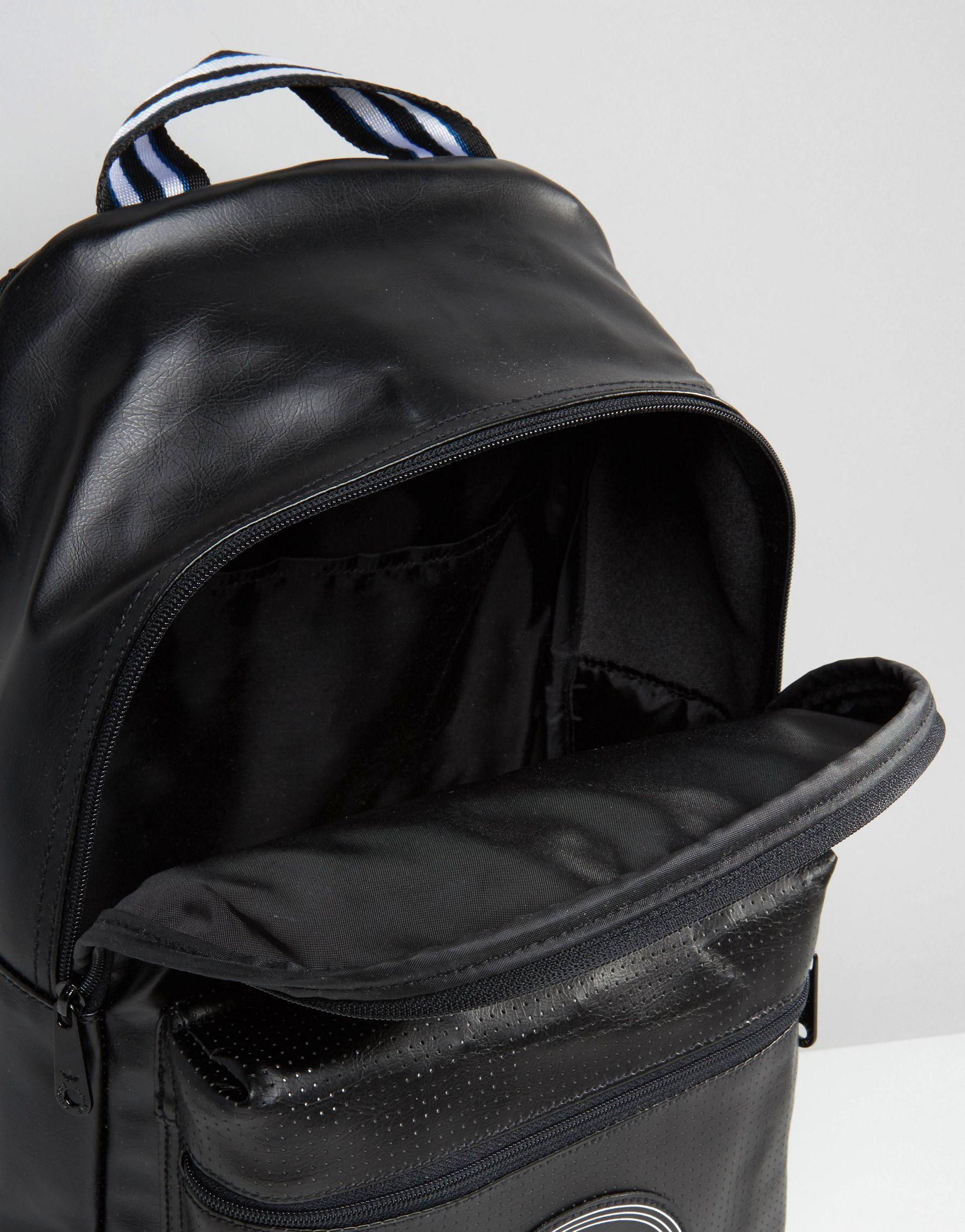 6bcb960df534 Lyst - adidas Originals Perforated Backpack In Black Ay7744 in Black ...