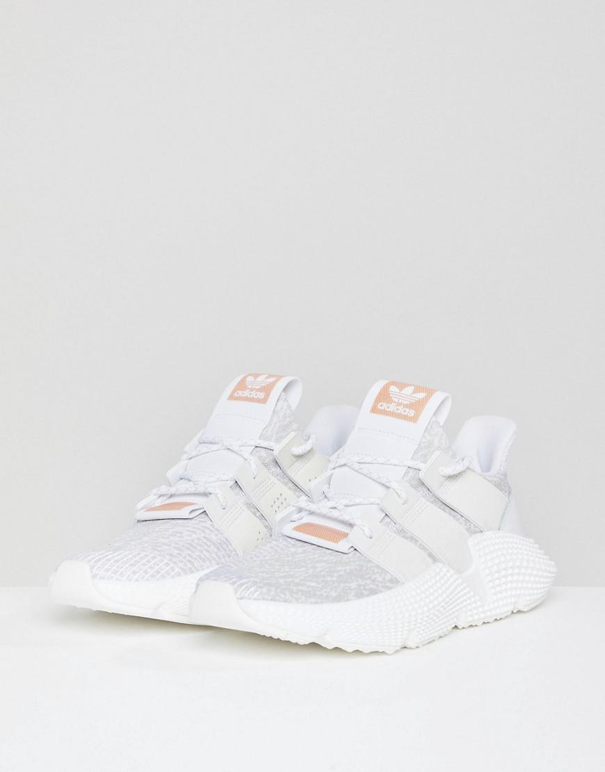 newest f4124 5401f Adidas Originals - Prophere Sneakers In White - Lyst. View fullscreen