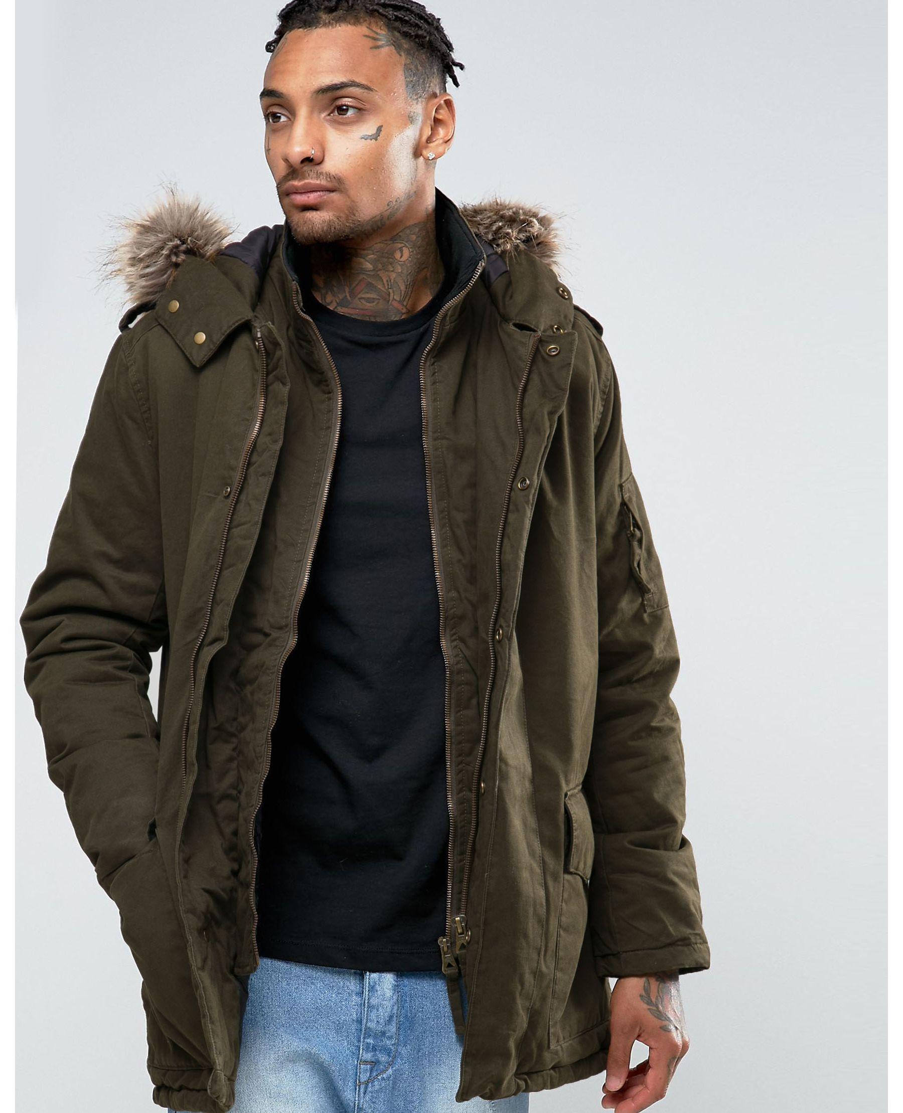 Free shipping and returns on Men's Parka Coats & Jackets at puraconga.ml