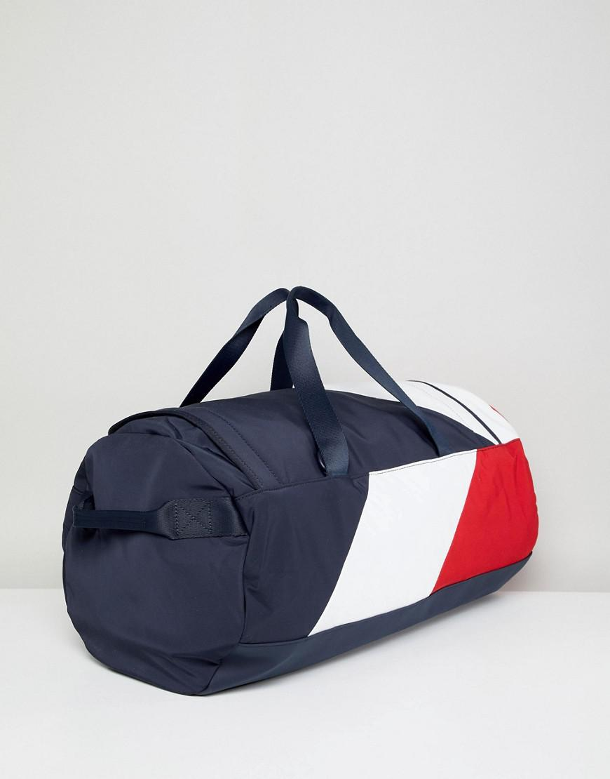 9c5a48ca7 Tommy Hilfiger Speed Duffle Bag Icon Colours In Navy/white/red in ...
