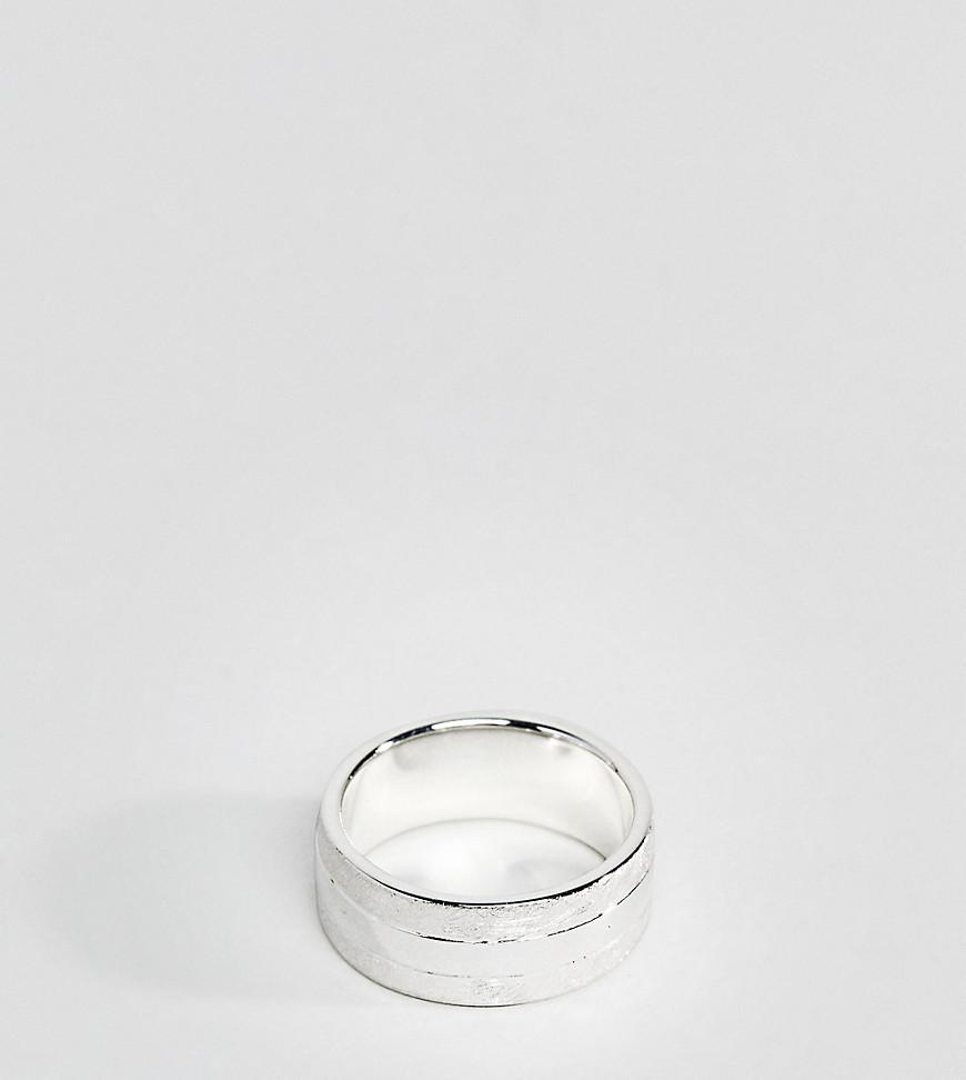 Vi?ales Enamelled Sterling Silver Cigar Band Ring Miansai dH1FpesSf