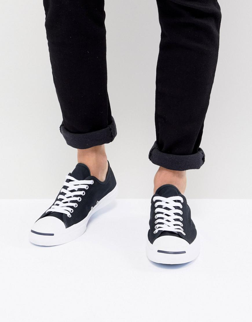 4aa20db6096ba9 Lyst - Converse Jack Purcell Ox Sneakers In Black 1q699 in Black for Men