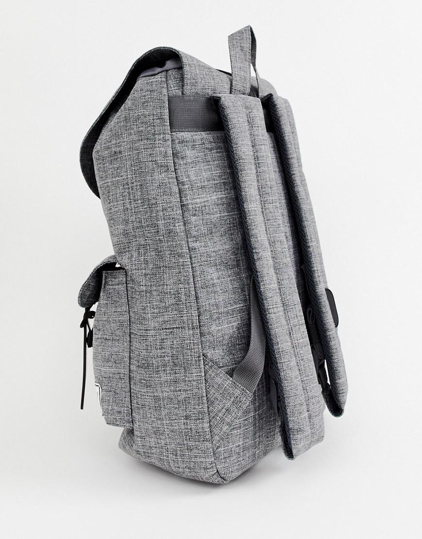 9700696d0e9 Herschel Supply Co. Dawson 20.5l Backpack In Raven Crosshatch in Gray for  Men - Lyst