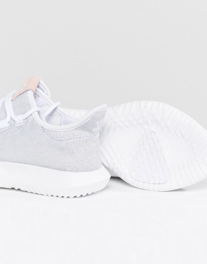 Tubular Shadow Trainer In White With Pink Branding - White adidas Originals 9S5uqH0