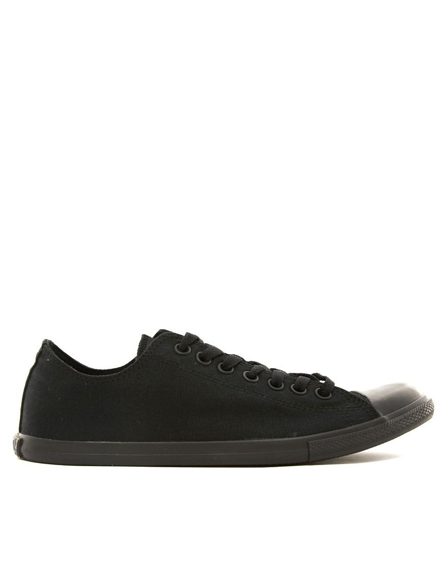 86e87cf2466d66 Converse All Star Lean Plimsolls In Black 142274c in Black for Men - Lyst