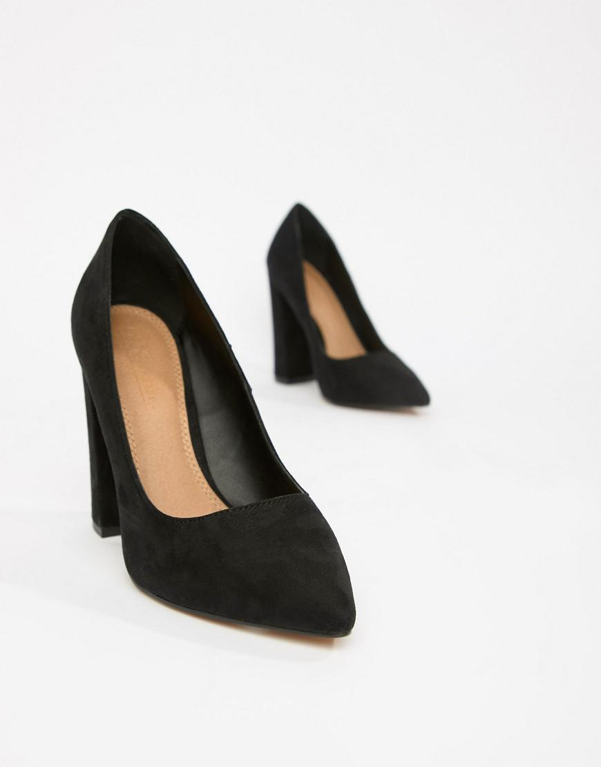 52495ebea55 Lyst - ASOS Palmer Pointed High Heeled Court Shoes In Black in Black