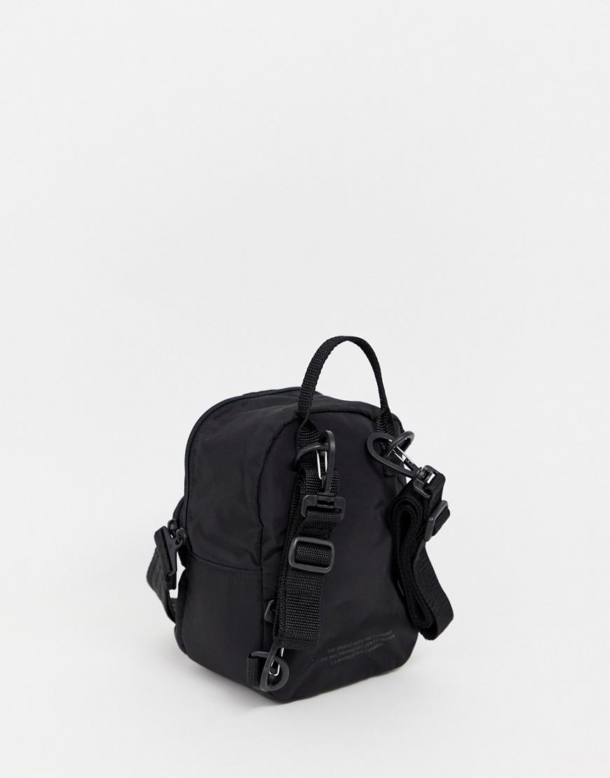 Lyst - adidas Originals Mini Backpack In All Black in Black 7286f43d5ec3b