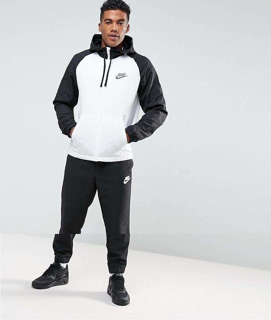 new style 34d52 29545 Nike Woven Tracksuit Set In Black 861772-011 in Black for Men - Lyst
