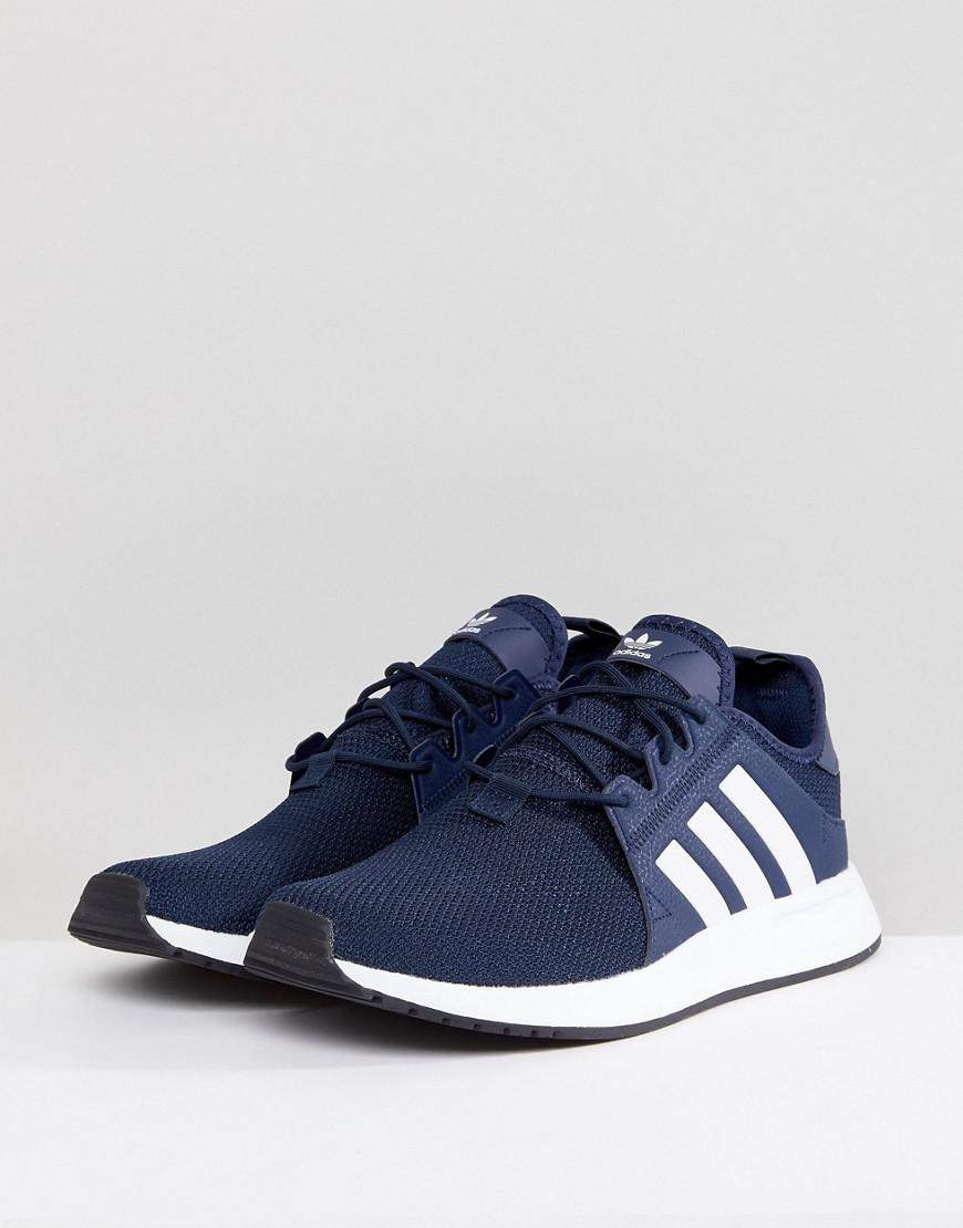 buy popular 290c5 b0821 adidas Originals X Plr Sneakers In Navy Cq2407 in Blue for Men - Lyst