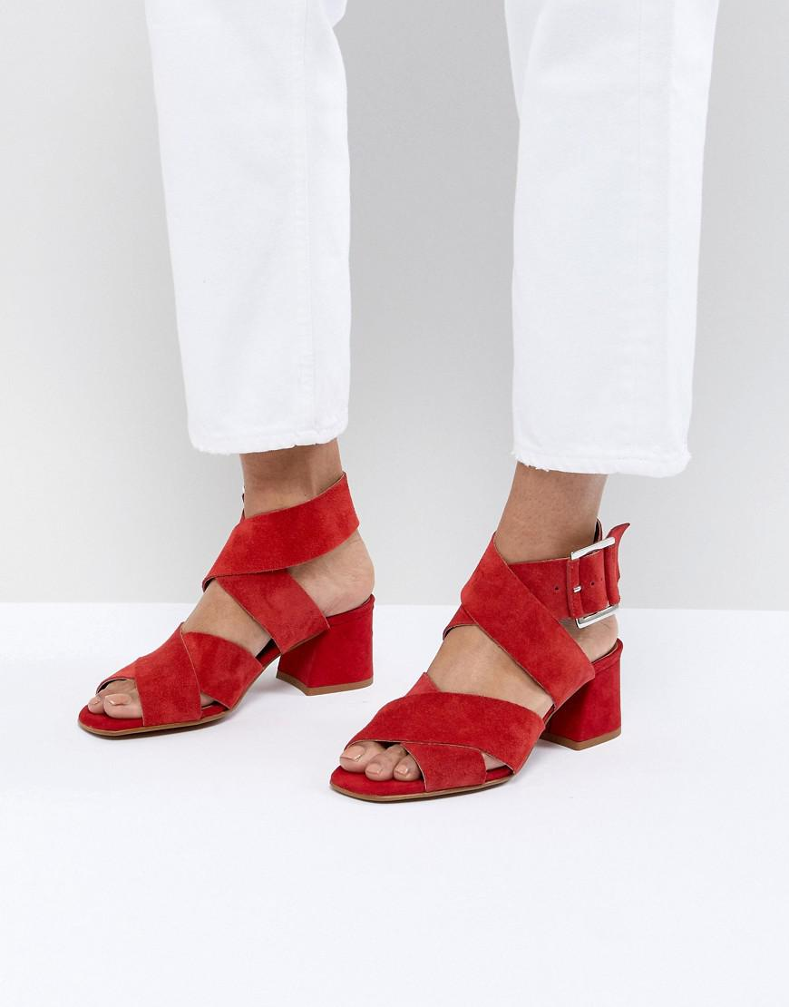 best wholesale cheap price DESIGN Tosh Suede Crossover Sandals outlet 2015 new sdKOTVeb