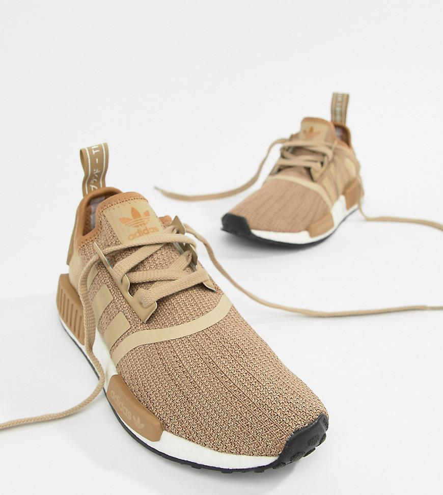 huge selection of 1ab5c f9a5c Lyst - adidas Originals Nmd R1 Sneakers In Beige in Natural