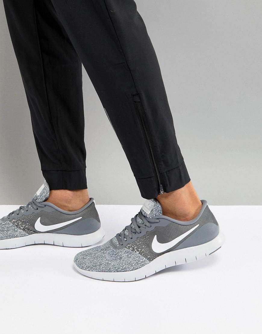 ecf4144346bb8 Nike Flex Contact Sneakers In Grey 908983-011 in Gray for Men - Lyst